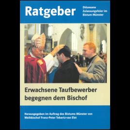 Erwachsene Taufbewerber begegnen dem Bischof