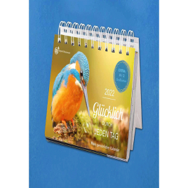 Steyler Tischkalender: Glücklich durch jeden Tag 2022